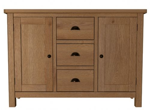 Richmond Rustic Oak Large Sideboard